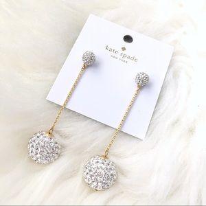 ♠️ Kate Spade Razzle Dazzle Linear Drop Earrings